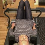 Pilates Client in Action